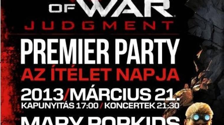 Gears of War: Judgment - magyar launch party bevezetőkép
