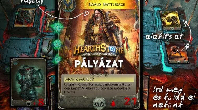 Hearthstone nyereményjáték - kártyák lettünk bevezetőkép