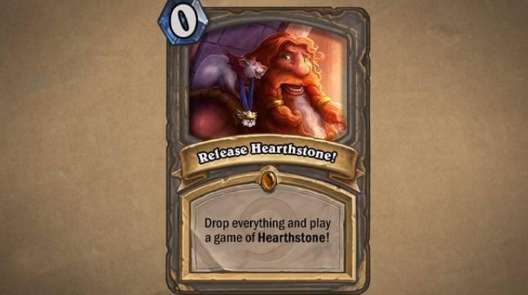 Megjelent a Hearthstone! bevezetőkép