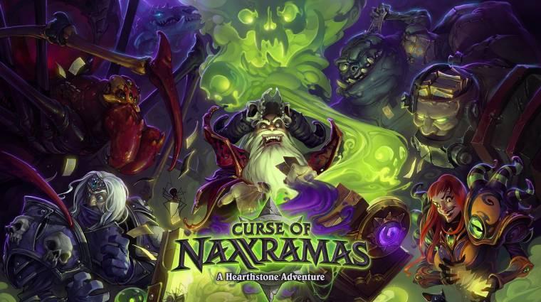 Hearthstone: Curse of Naxxramas - újabb szárny, újabb kártyák bevezetőkép