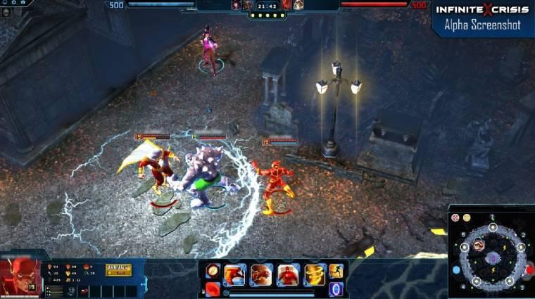 Infinite Crisis - Flash és a haverok bevezetőkép