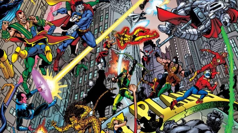 Infinite Crisis - minden hős ingyenes bevezetőkép