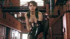 Metal Gear Solid 5: The Phantom Pain - az új frissítésnek hála már Quiettel is játszhatunk kép