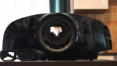 Sony 4K projektor teszt - mikor homályos a Full HD kép