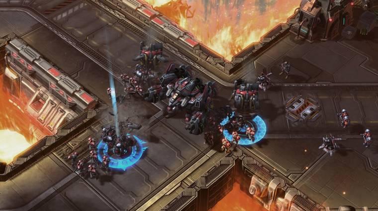 StarCraft 2: Legacy of the Void - új pályát és parancsnokot hozott az új frissítés bevezetőkép