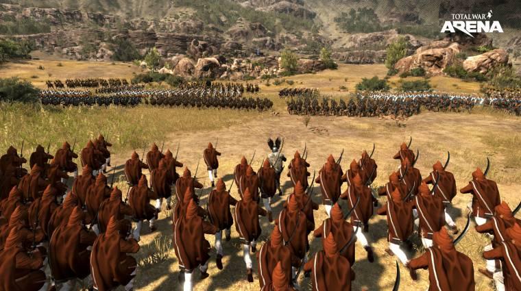 Leáll a Total War Arena bevezetőkép