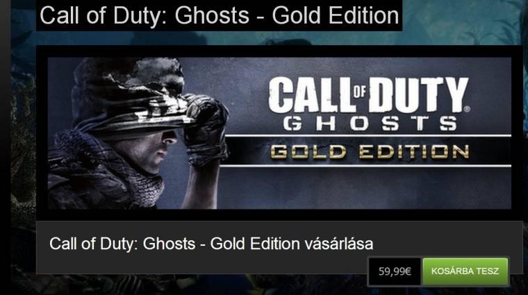 Call of Duty: Ghosts - itt a Gold Edition, de miért jó ez nekünk? bevezetőkép