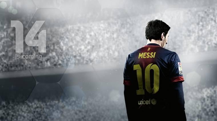 FIFA 14 - bemutatkozott az angol borító sztárja bevezetőkép