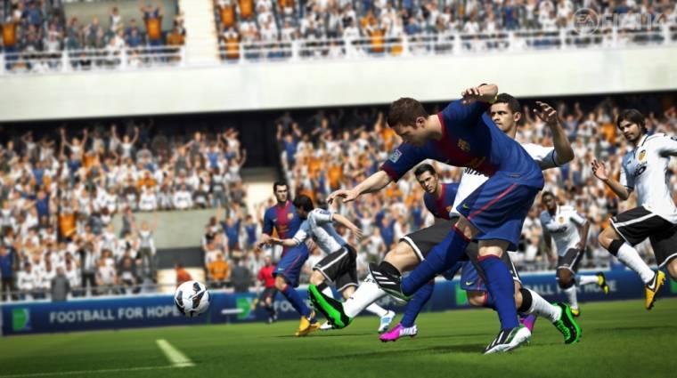 FIFA 14 - fájdalom és meglepettség a borítón bevezetőkép