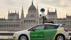 Magyarországon a Street View kép