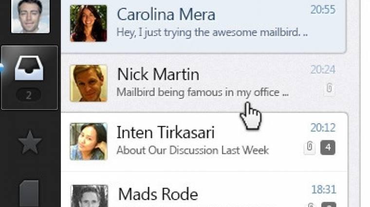 Mailbird: a webkettes kommunikációs központ kép
