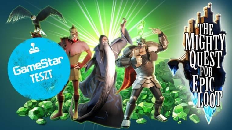 The Mighty Quest for Epic Loot bétateszt - lopkodunk és védünk bevezetőkép