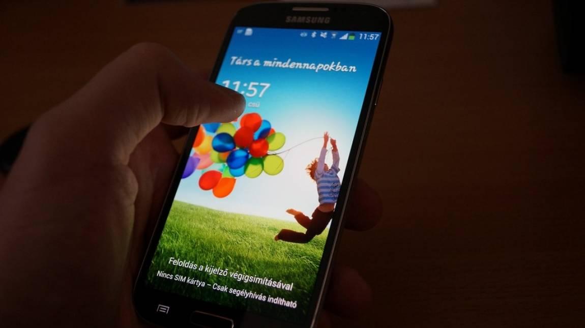 Samsung Galaxy S4 teszt: a mindent látó kép