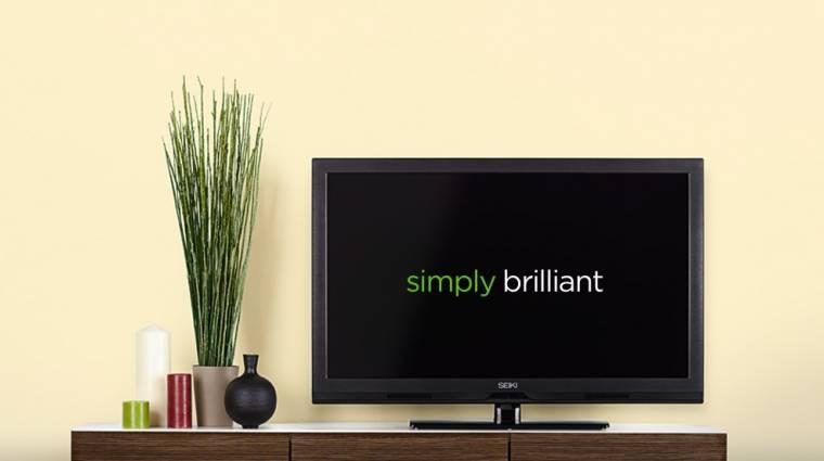 Szuperolcsó Ultra HD TV Japánból kép