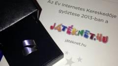 A JátékNet.hu lett az év internetes kereskedője kép