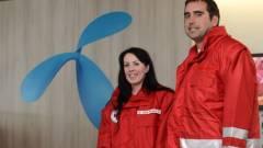 A Vöröskereszt partnere lett a Telenor kép