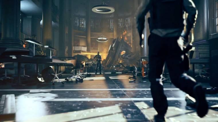 Quantum Break - borítókép a főszereplővel bevezetőkép