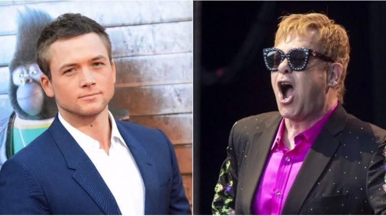 Taron Egerton lesz Elton John kép