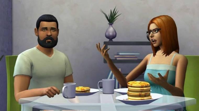 The Sims 4 - csoportos beszélgetések, hatalmas mellek  bevezetőkép