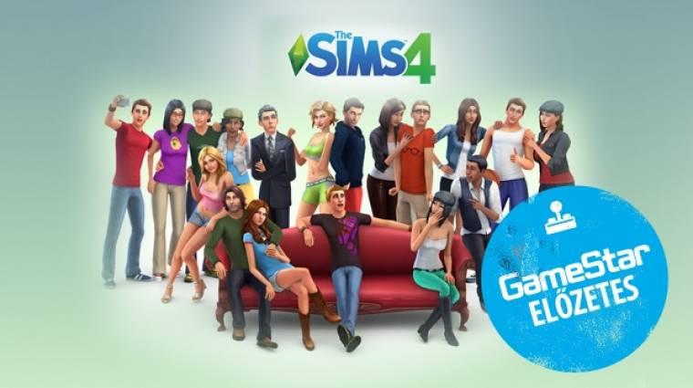 The Sims 4 előzetes - apu ökölbe szorult keze vagyok bevezetőkép