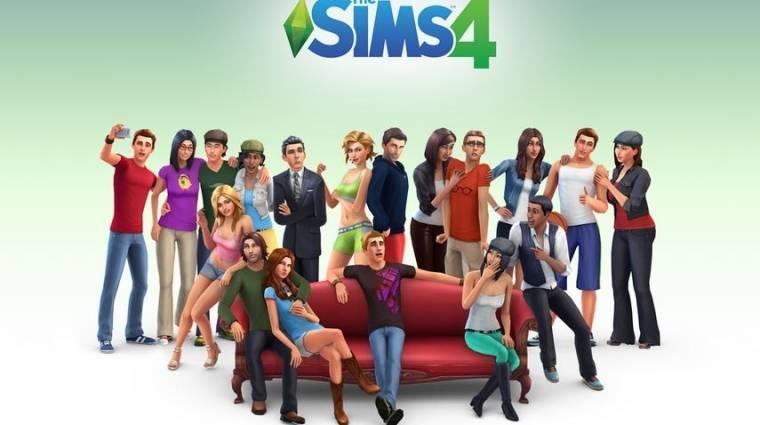 The Sims 4 - 3000-en haltak meg nevetésben bevezetőkép