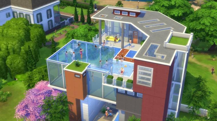 The Sims 4 - megjöttek a medencék! bevezetőkép