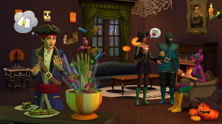 The Sims 4: Spooky Stuff - szellemirtók kíméljenek (videó) bevezetőkép
