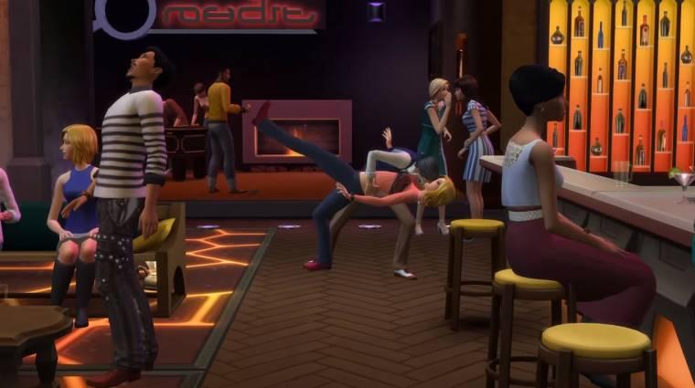The Sims 4: Get Together - furán laza a launch trailer bevezetőkép