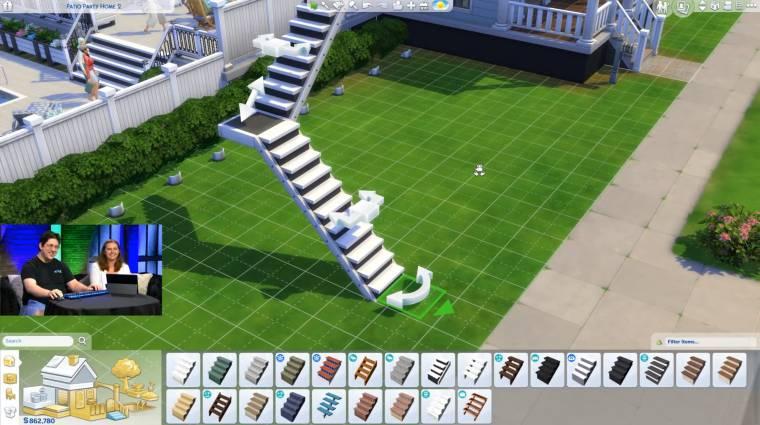 The Sims 4 - szabadon alakítható lépcsők jönnek a mai frissítéssel bevezetőkép