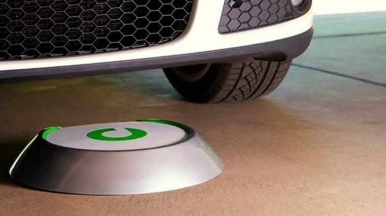 Vezeték nélküli töltő már autókhoz is kép