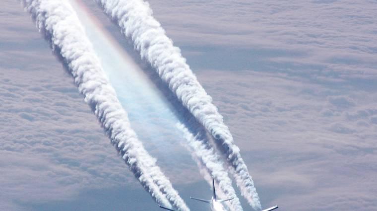 Repülőgépekről szórják ránk a mérget kép