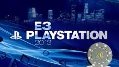 E3 2013 - a Sony megduplázza a Microsoft tétjét kép
