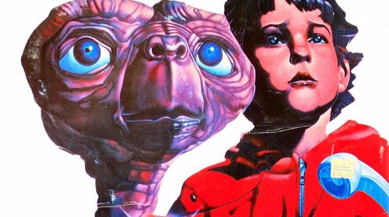 Kiássák a sivatagban eltemetett E.T.: Extra-Terrestrial játékkazettákat bevezetőkép