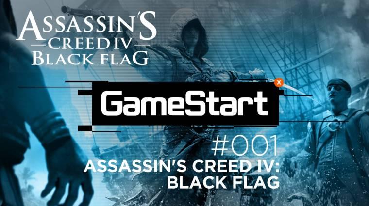 GameStart - Assassin's Creed IV: Black Flag végigjátszás 1. rész bevezetőkép
