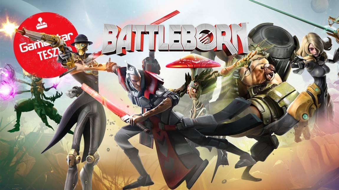 Battleborn teszt - a 2K megint benézte bevezetőkép