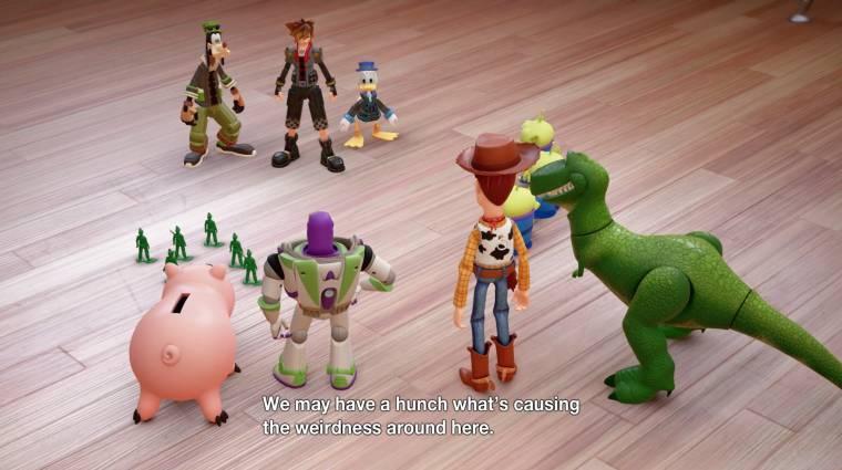 Kingdom Hearts III - csatlakoznak a Toy Story szereplői bevezetőkép