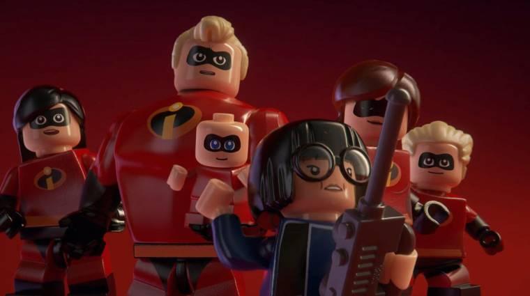 Trailerrel mutatkozott be a LEGO The Incredibles bevezetőkép