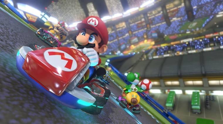Deluxe kiadásban jön a Mario Kart 8 Switchre bevezetőkép