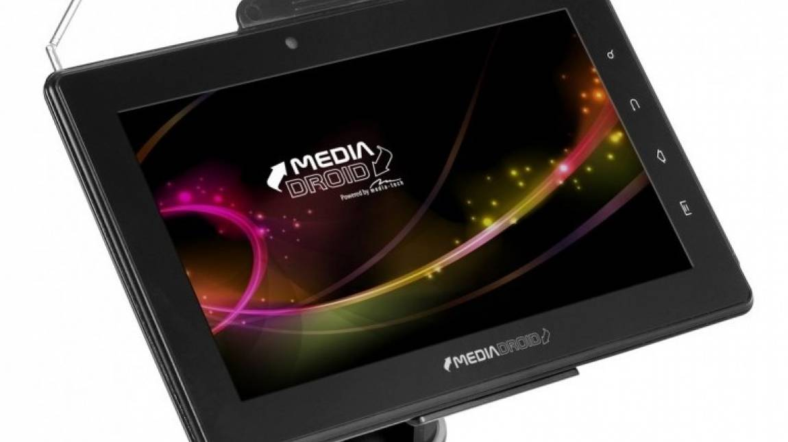 Táblagép DVB-T vevővel: Media Droid MT7004MCX teszt kép