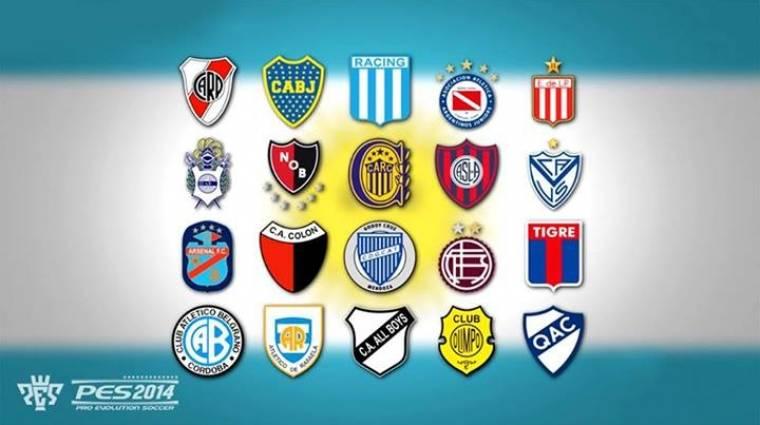PES 2014 - argentin csapatokkal kiegészülve bevezetőkép