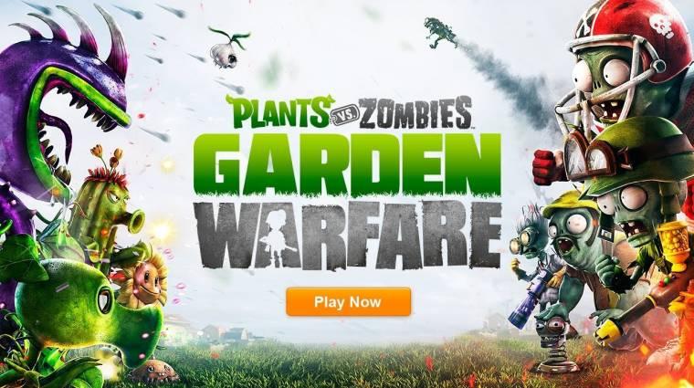 Gamescom 2013 - Plants vs. Zombies: Garden Warfare bevezetőkép