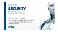 SharePoint 2013 Server támogatás az ESET-től kép