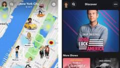 Új dizájnt tesztel a Snapchat kép