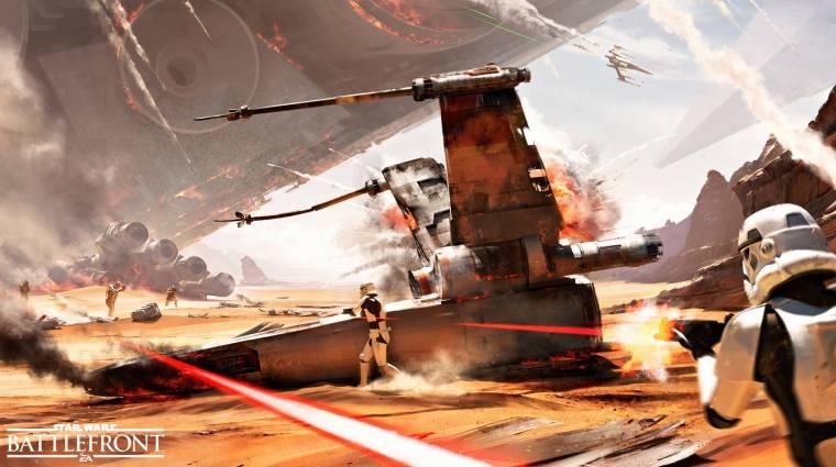 Star Wars Battlefront - megtudtuk, mit kapunk a megjelenés után bevezetőkép