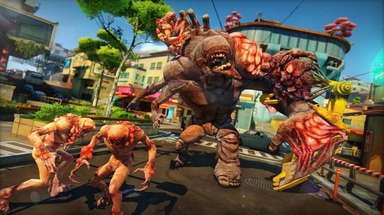 Sunset Overdrive - új gameplay és az intró bevezetőkép