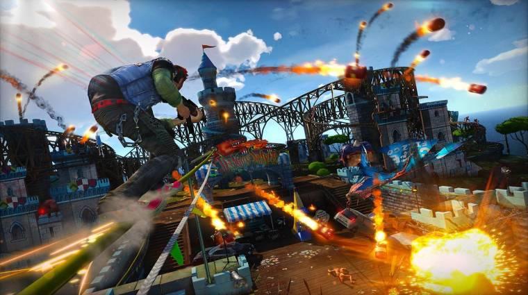 Újabb jel utal arra, hogy PlayStationön kaphat folytatást a Sunset Overdrive bevezetőkép