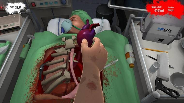 Surgeon Simulator: Anniversary Edition - jövő héten újra műtünk bevezetőkép