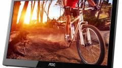 Hordozható monitorral újított az AOC kép