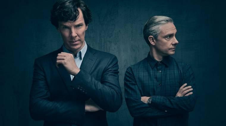 Ezért kezdődött sokkolóan a Sherlock 4. évada kép