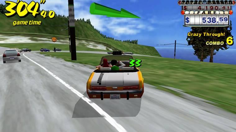 Crazy Taxi - ingyenes az eredeti játék mobilos portja bevezetőkép